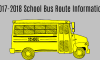 2017-2018 School Bus Route Information–Note Changes to Bus 20 and Bus 39